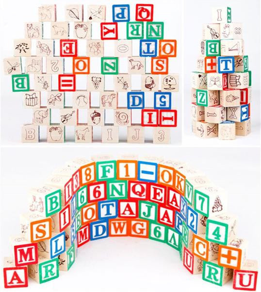 ABC Wooden blocks All Cool Toys