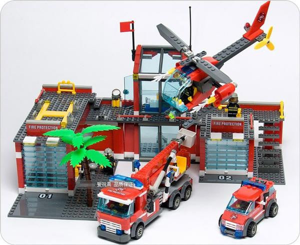 Fire station Blocks All Cool Toys