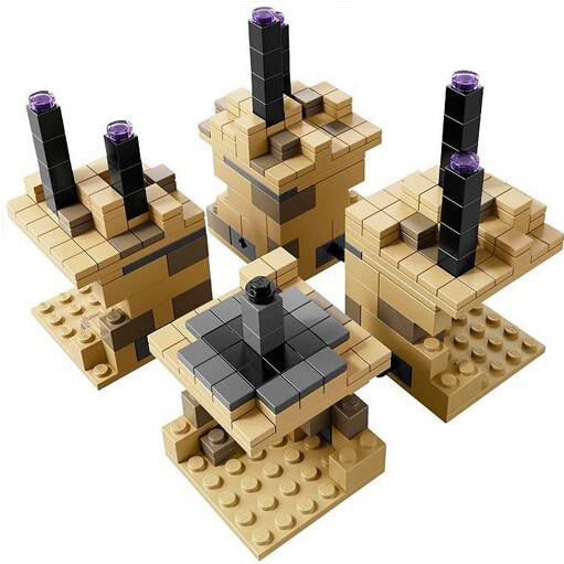 Far Lands Enderdragon Model Minecraft Toys
