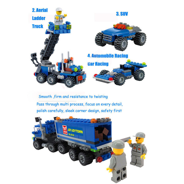 DIY Transport Dumper Truck Building Blocks