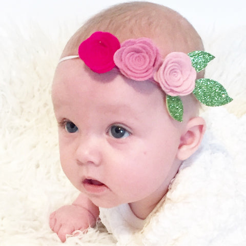 Mini Rose Flowercrown