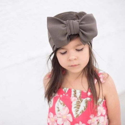 Taupe Headwrap