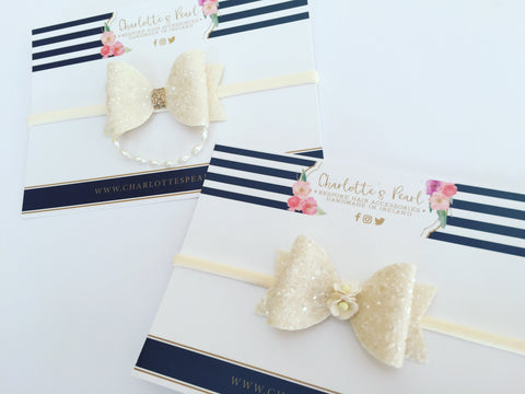 Christening/Flowergirl Headbands