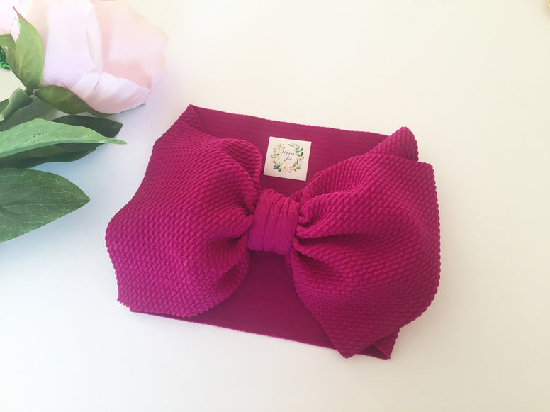 Berry Pink Headwrap