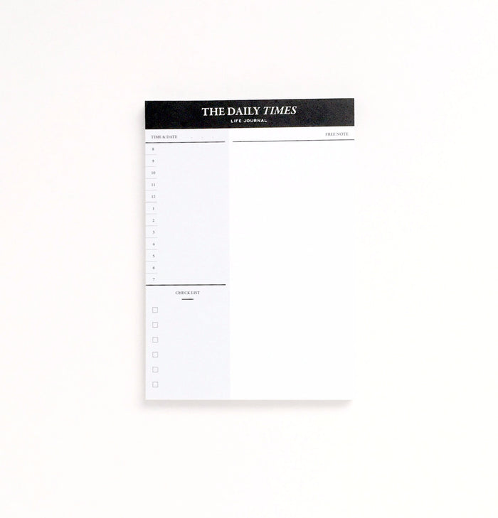 The Daily Times Mini Desk Planner - EAST WICK