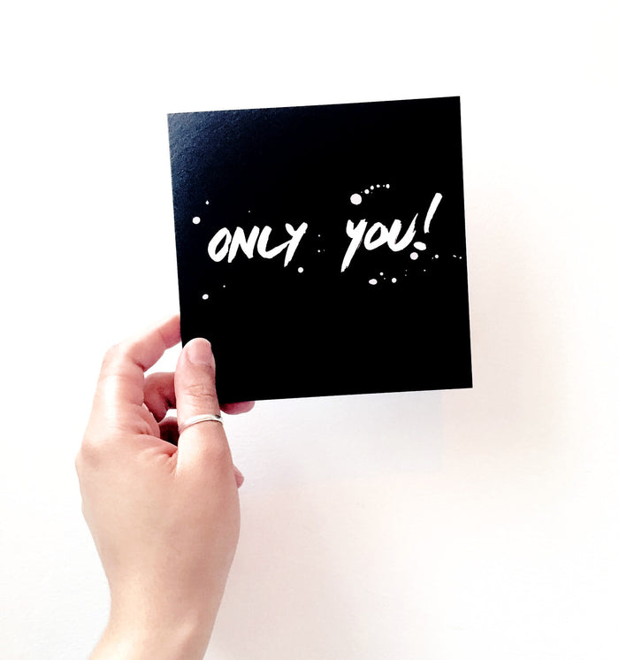 Only You Card - EAST WICK