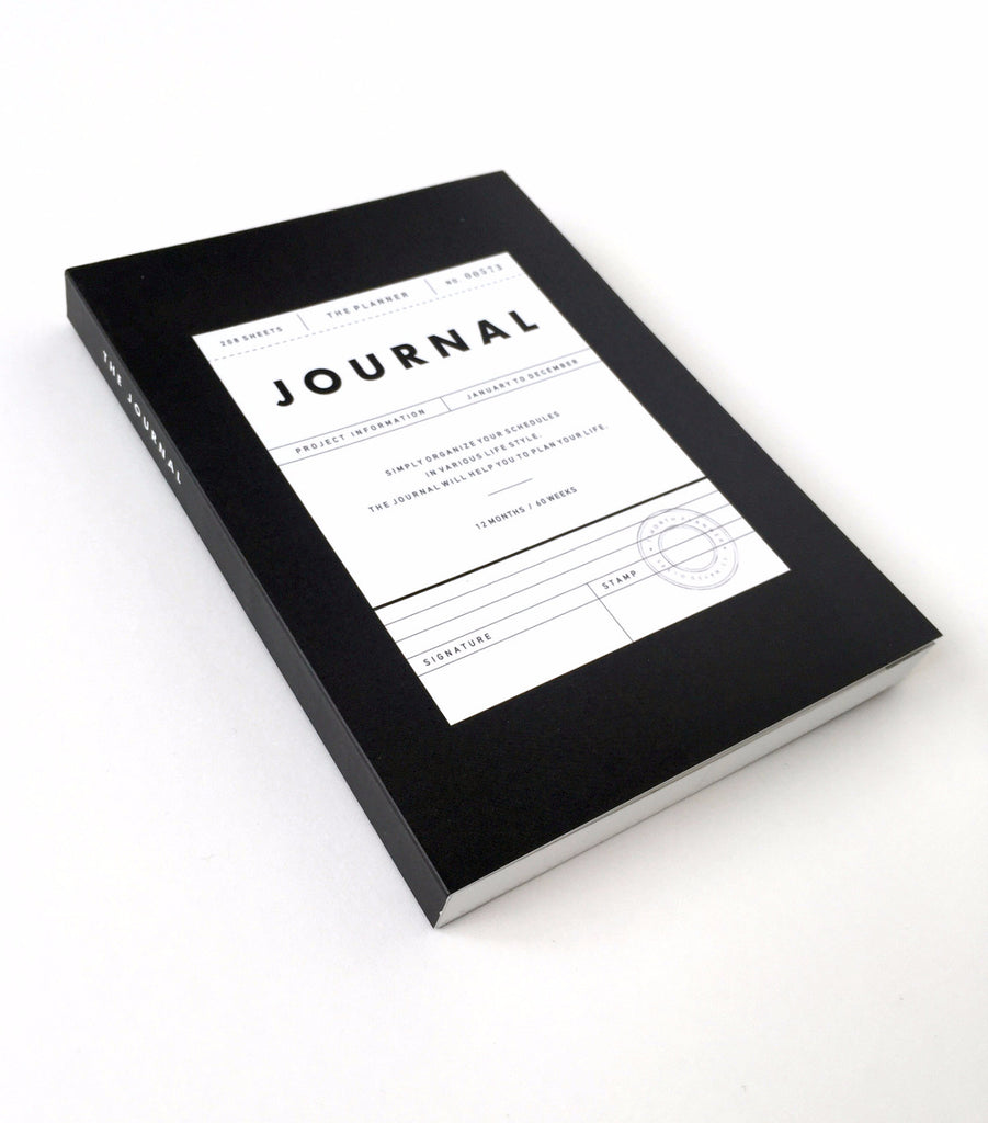 Any-Date Journal - Charcoal - EAST WICK