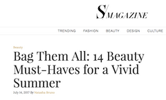Bag Them All: 14 Beauty Must-Haves for a Vivd Summer