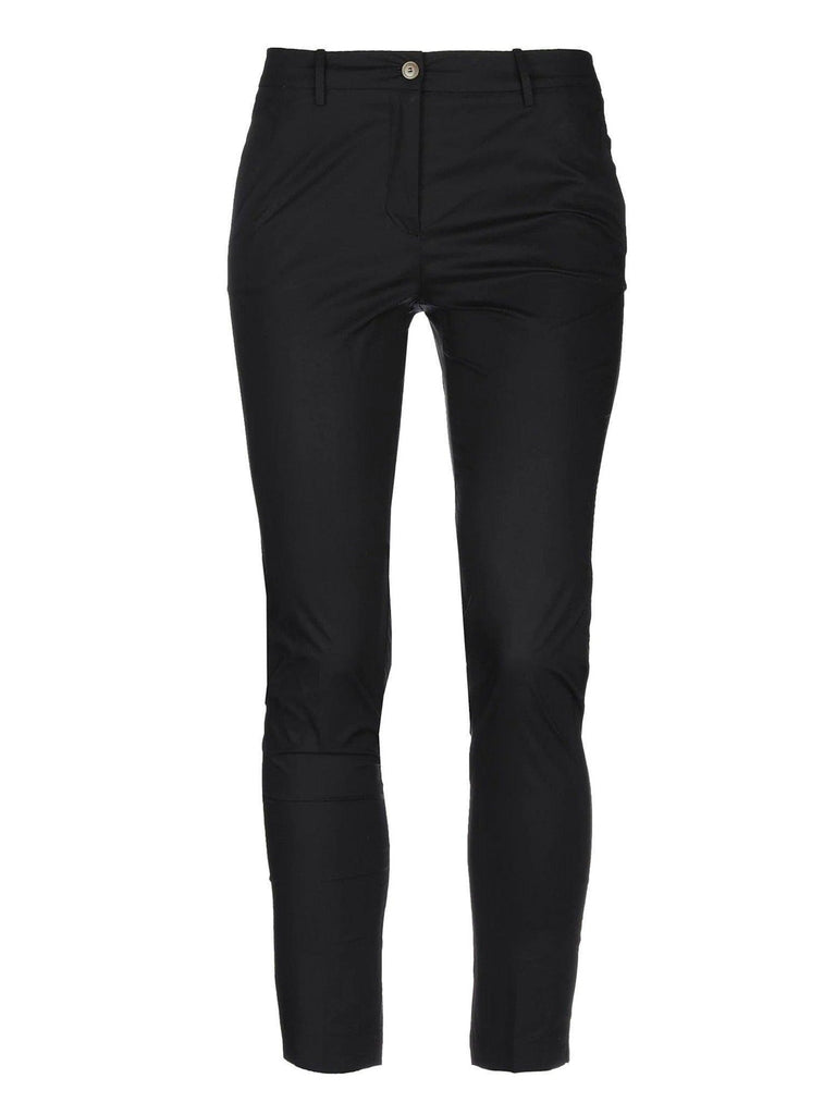 Black Cotton Chino-Pants-Rosso35-Debs Boutique