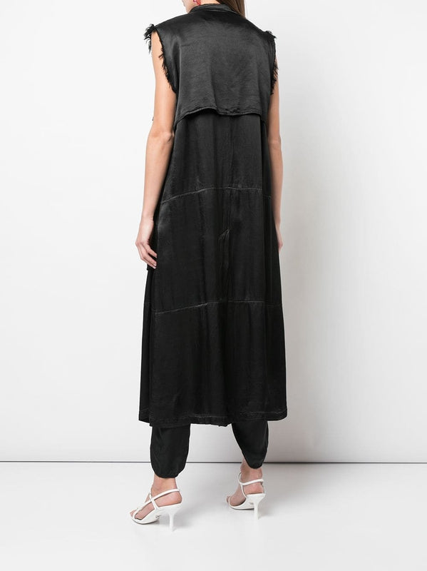 Sleeveless Trench-Raquel Allegra-Debs Boutique