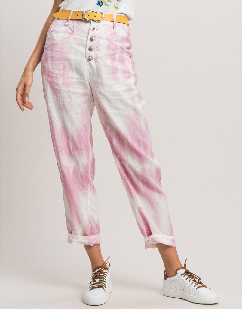 Open-Out Tie-Dye Pant-Pant-High by Claire Campbell-Debs Boutique