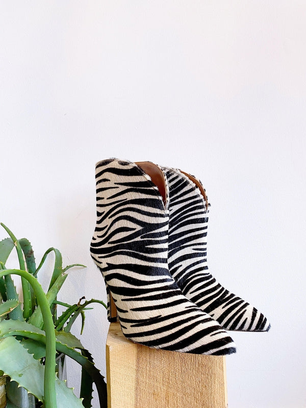 Stiletto Rounded Ankle Boot-Paris Texas-Debs Boutique