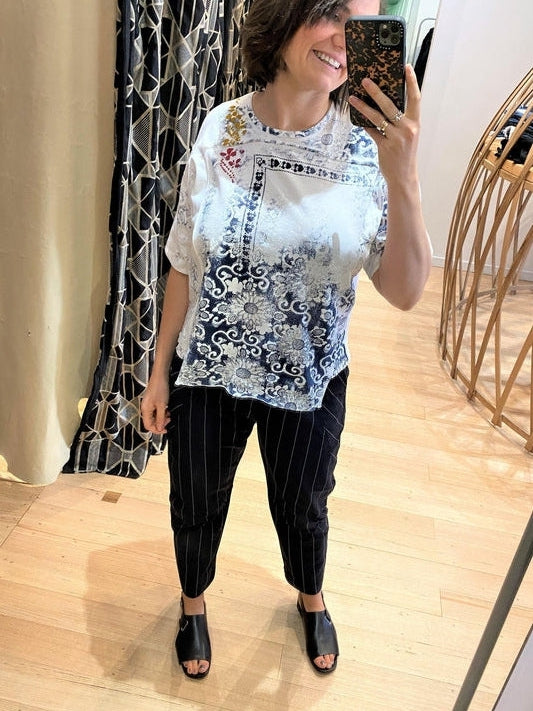 Elaborate T-Shirt-T-Shirt-High by Claire Campbell-Debs Boutique