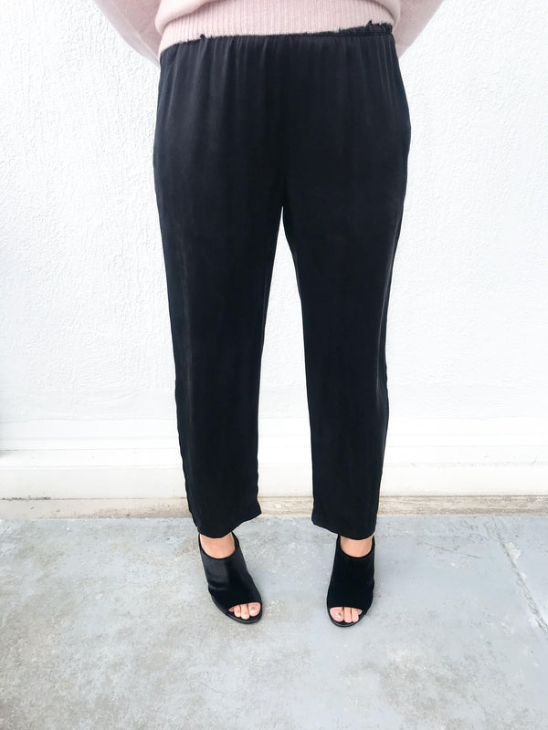 Silk Ankle Pant