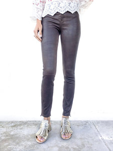 Mid Rise Skinny Leathers - Debs Boutique