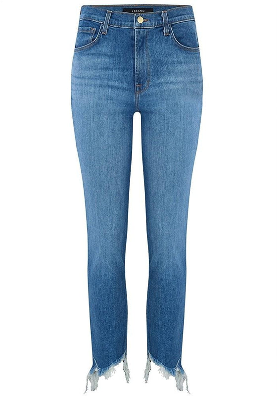 Ruby High Rise Crop Cigarette Jean