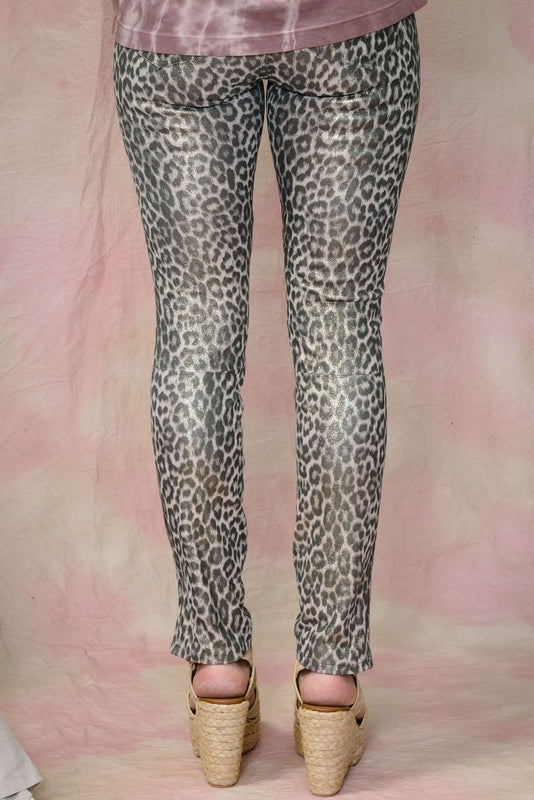 Jaguar Skinny Leather Pants