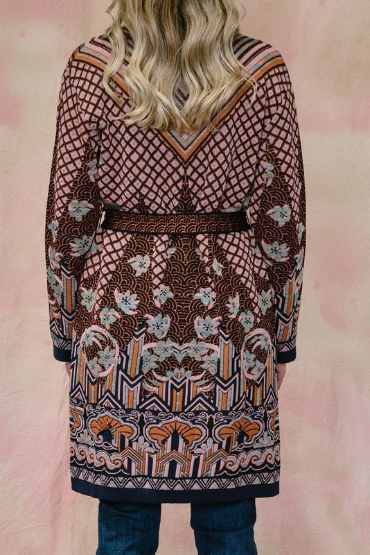 Oriental Knit Cardi-M Missoni-Debs Boutique
