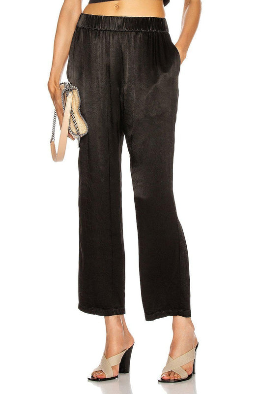 Raquel Allegra Ankle Pant in Black at Debs Boutique - front view