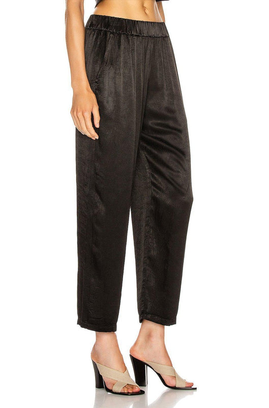 Raquel Allegra Ankle Pant in Black at Debs Boutique - side view
