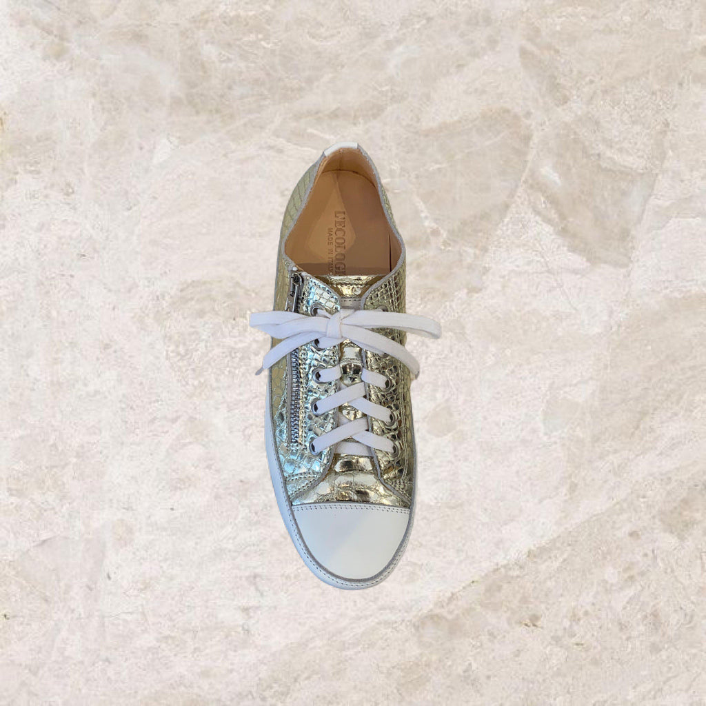 Platino Zip Sneaker-Shoes-L'Ecologica-Debs Boutique