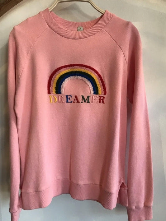 Dreamer Rainbow Sweatshirt-Chinti & Parker-Debs Boutique