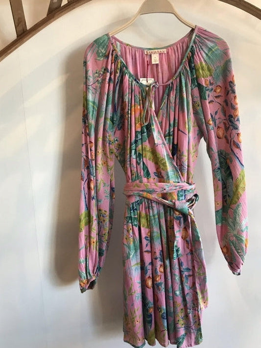 Bazaar Wrap Mini Dress