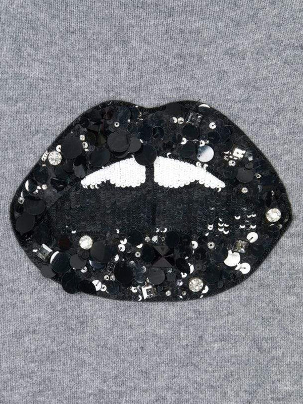 Elinor Sequin Jewel Lip Poloneck-Markus Lupfer-Debs Boutique