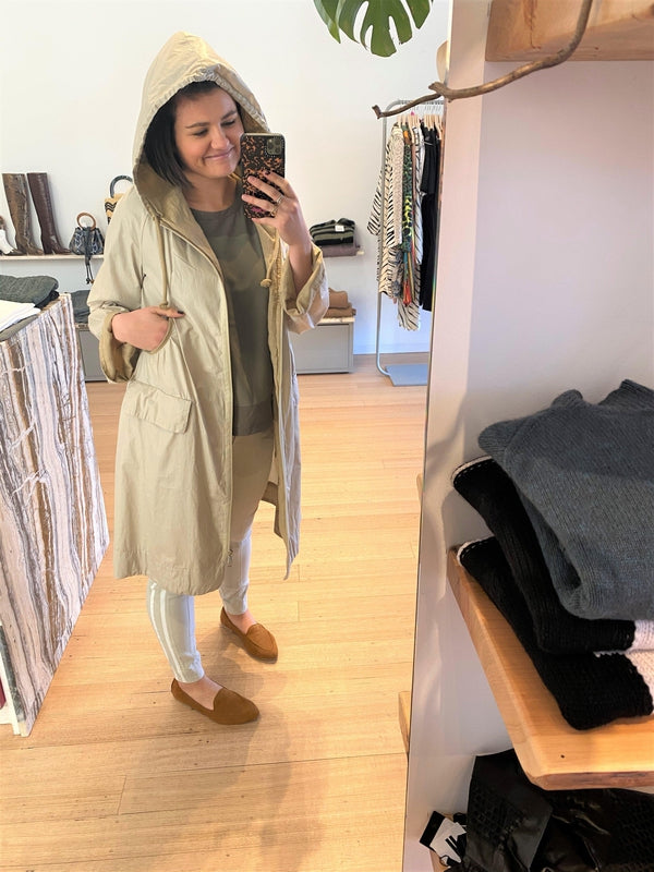 Raincoat with Contrast Detailing-Jacket-Transit-Debs Boutique