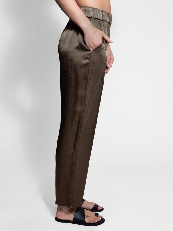 Ankle Pant in Moss - Debs Boutique