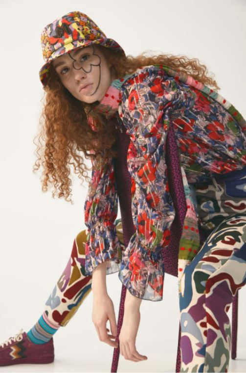 Print Tapestry Style Pant-Pants-M Missoni-Debs Boutique