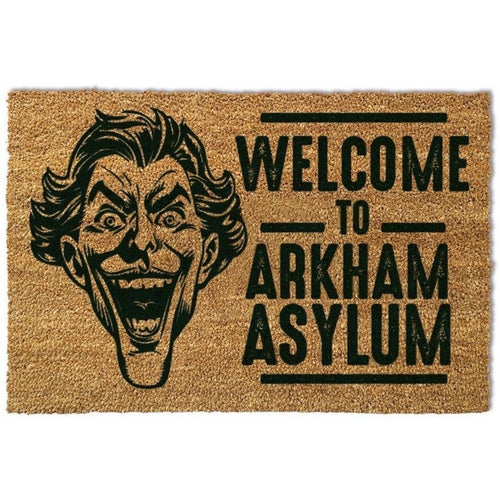 Blankets, Rugs & Towels - Batman Arkham Asylum Doormat The Joker