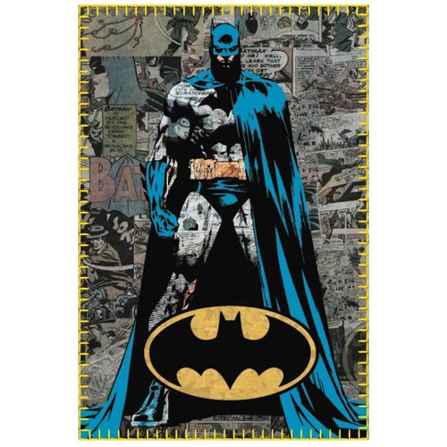 Blankets, Rugs & Towels - Batman Fleece Blanket Comic