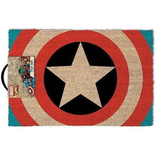 Blankets, Rugs & Towels - Captain America Shield Doormat