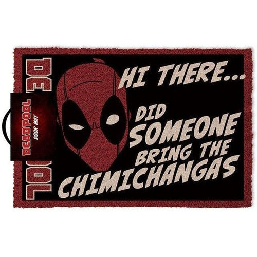 Blankets, Rugs & Towels - Deadpool Doormat Hi There