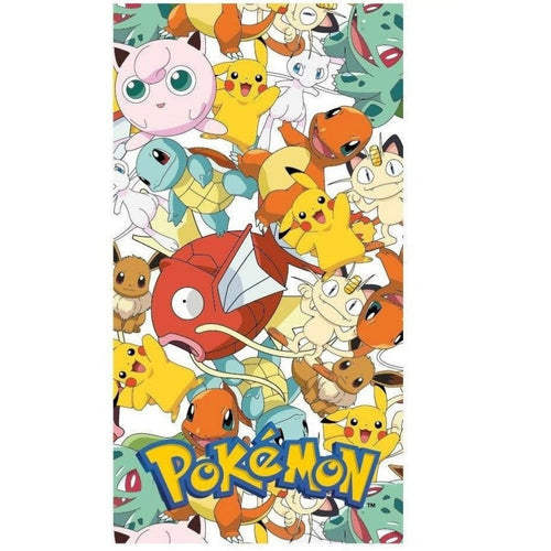Blankets, Rugs & Towels - Pokemon Towel Characters