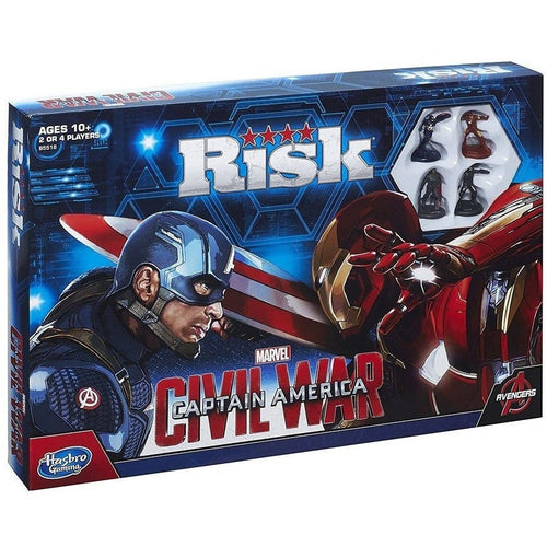 Board Games & Cards - Captain America Civil War Board Game Risk *English Version*