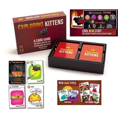 Board Games & Cards - Exploding Kittens: Original Edition