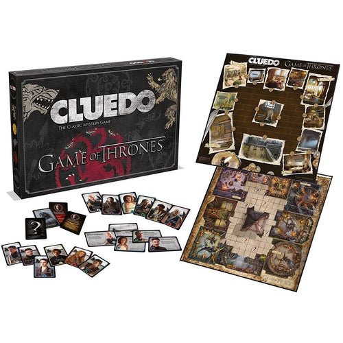 Board Games & Cards - Game Of Thrones Board Game Cluedo
