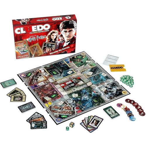 Board Games & Cards - Harry Potter Board Game Cluedo