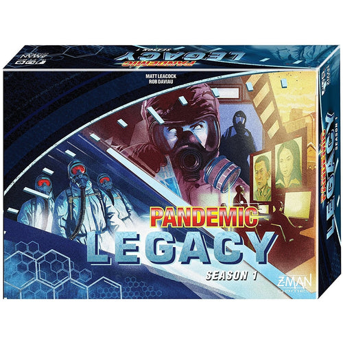 Board Games & Cards - Pandemic Legacy Season 1 - Blue