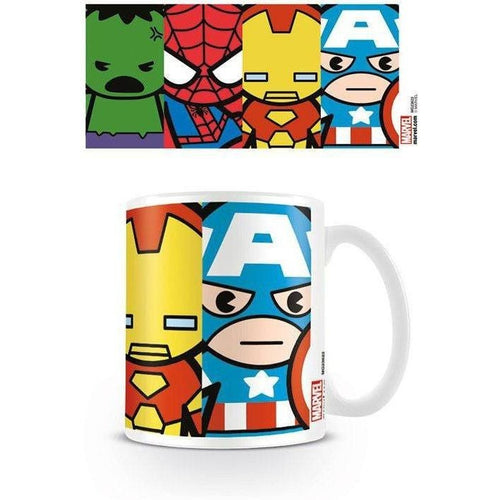 Coffee Mugs & Travel Mugs - Avengers Mug Kawaii