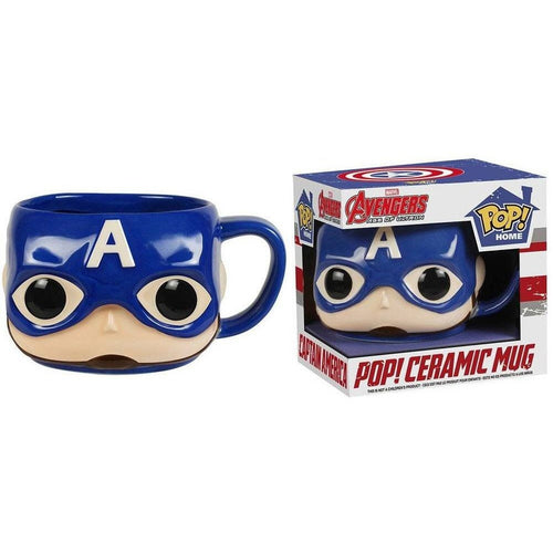 Coffee Mugs & Travel Mugs - Avengers POP! Homewares Mug Captain America