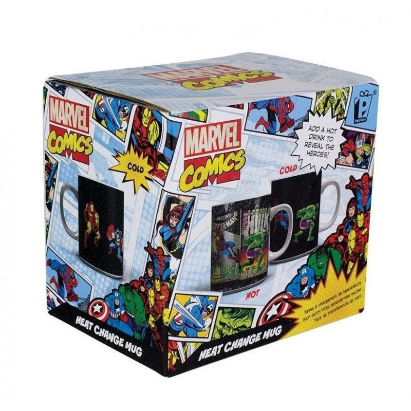 Coffee Mugs & Travel Mugs - Marvel Comics Heat Change Mug