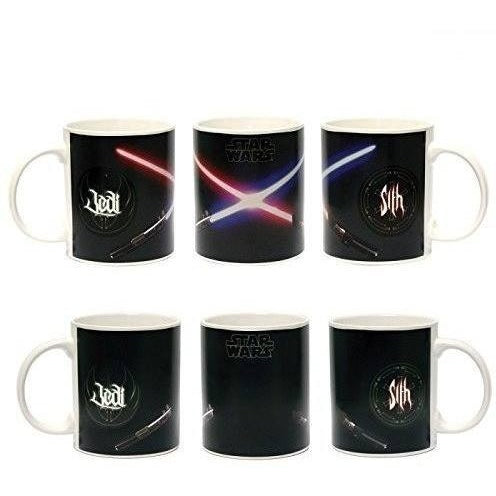 Coffee Mugs & Travel Mugs - Star Wars Lightsaber Duel Heat Change Mug