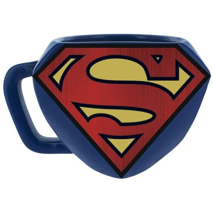 Coffee Mugs & Travel Mugs - Superman Shaped Mug