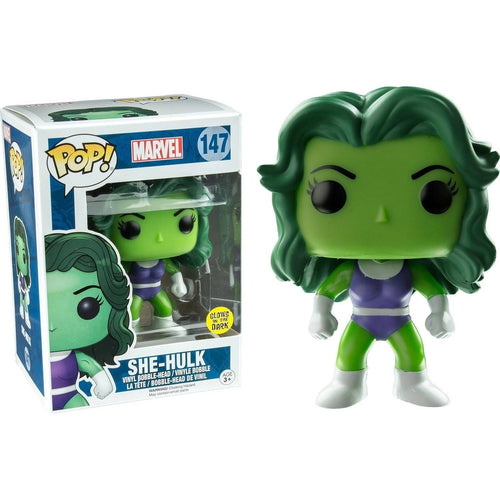 Funko Pop! - Marvel Comics POP! Marvel Vinyl Figure She-Hulk GITD