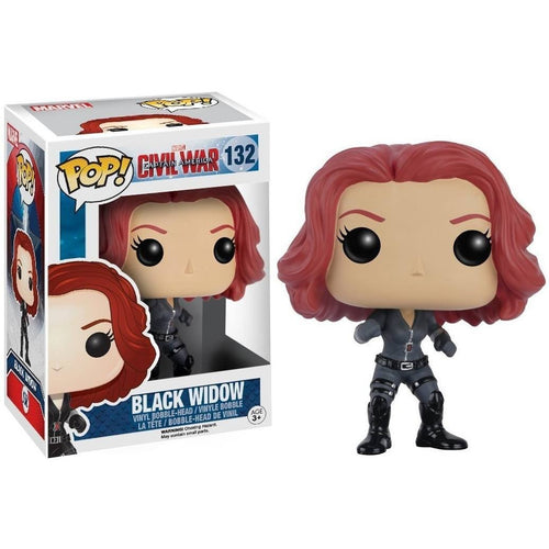 Funko Pop! - POP! Funko Bobble Marvel: Captain America - Black Widow