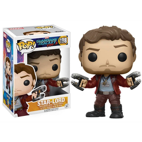 Funko Pop! - POP! Funko Bobble Marvel: Guardians Of The Galaxy 2: Star Lord