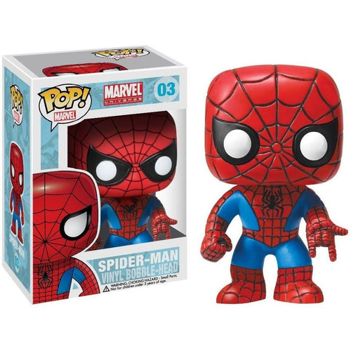 Funko Pop! - POP! Funko Marvel: Spiderman Bobble Head